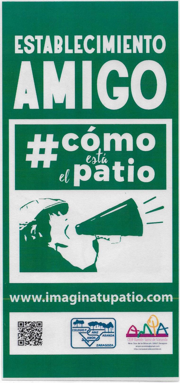 """APOYANDO LA CAMPAÑA """"COMO ESTA EL PATIO"""""""